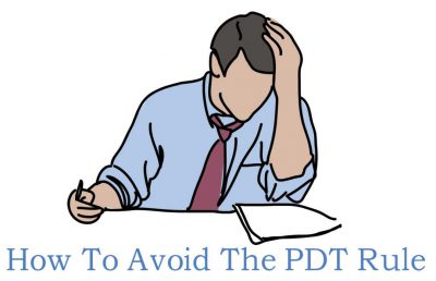 how to avoid the pattern day trader rule