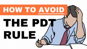 Pdt rule and trading options