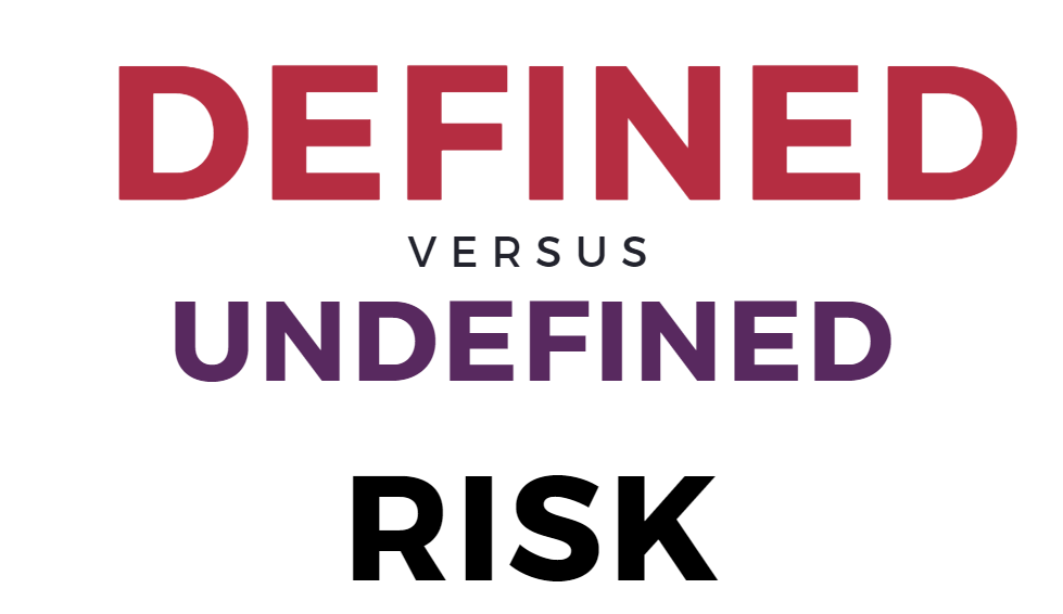 undefined vs defined risk option strategies