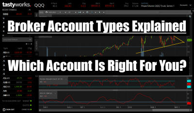 brokerage account types explained