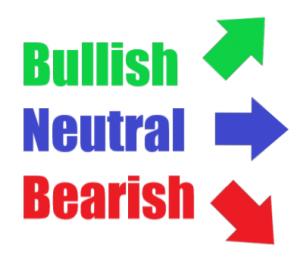 bullish bearish neutral