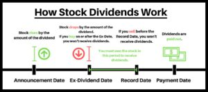 how stock dividends work