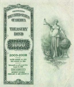US Treasury Bond